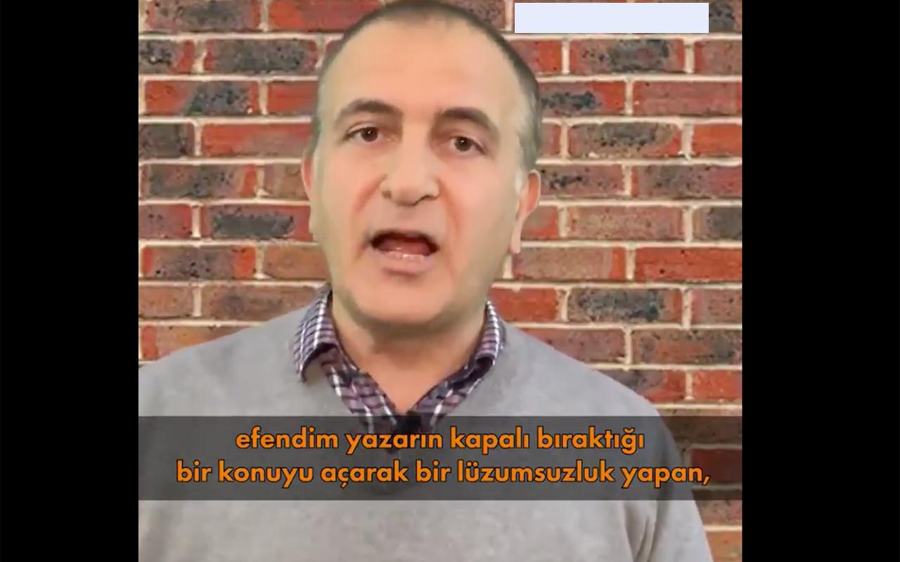 FETÖ'cü Ekrem Dumanlı ve Önder Aytaç Selman Gülen ifşasına kudurdu
