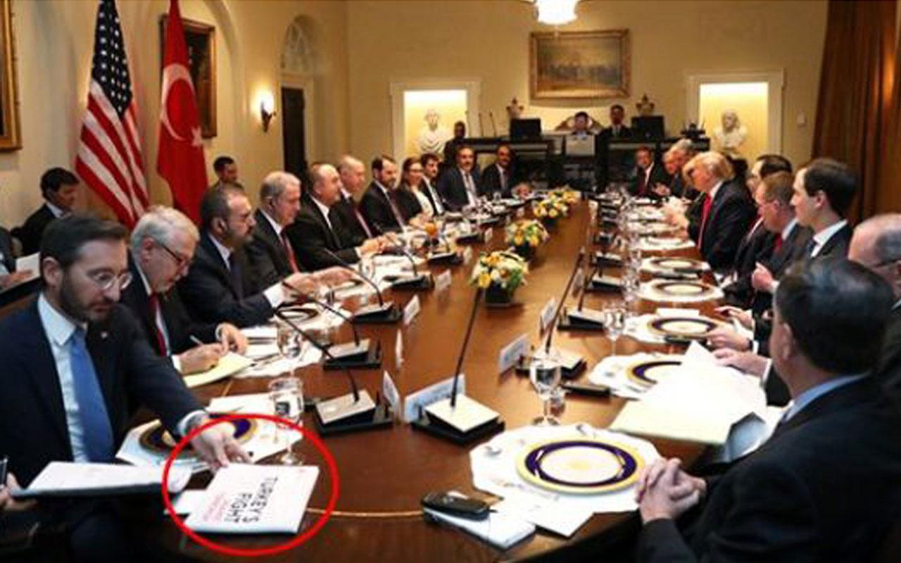 Erdoğan-Trump görüşmesinde dikkat çeken 'terörle mücadele' dosyası