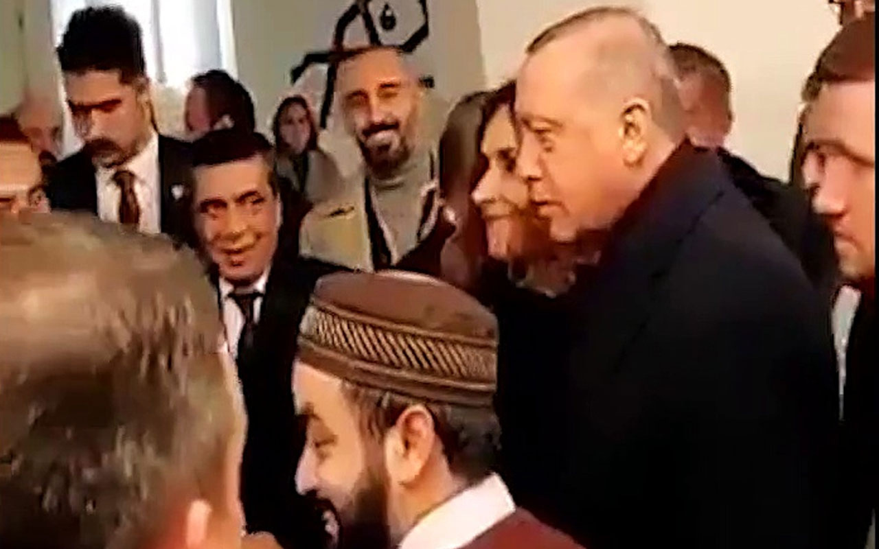 Cumhurbaşkanı Erdoğan Washington'da 'I love you man' diyen adamı karşılıksız bırakmadı
