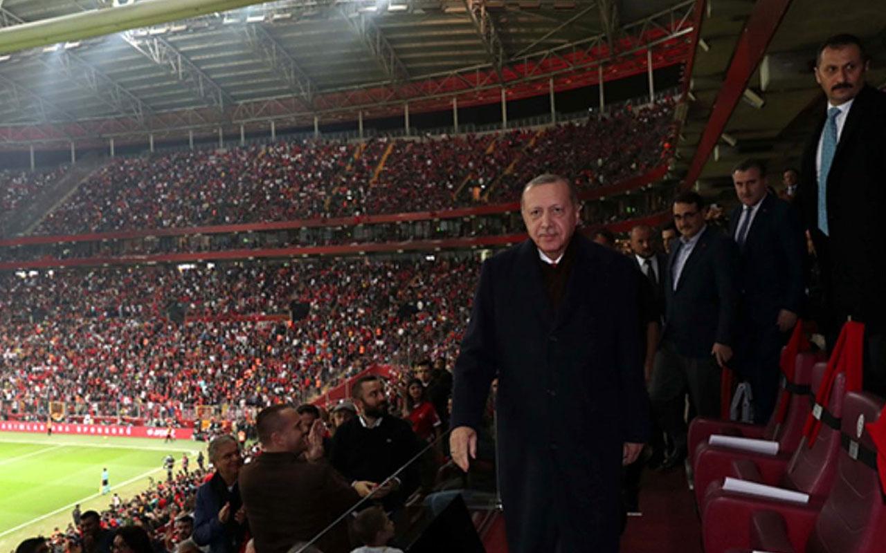 Cumhurbaşkanı Recep Tayyip Erdoğan'dan İzlanda maçı yorumu