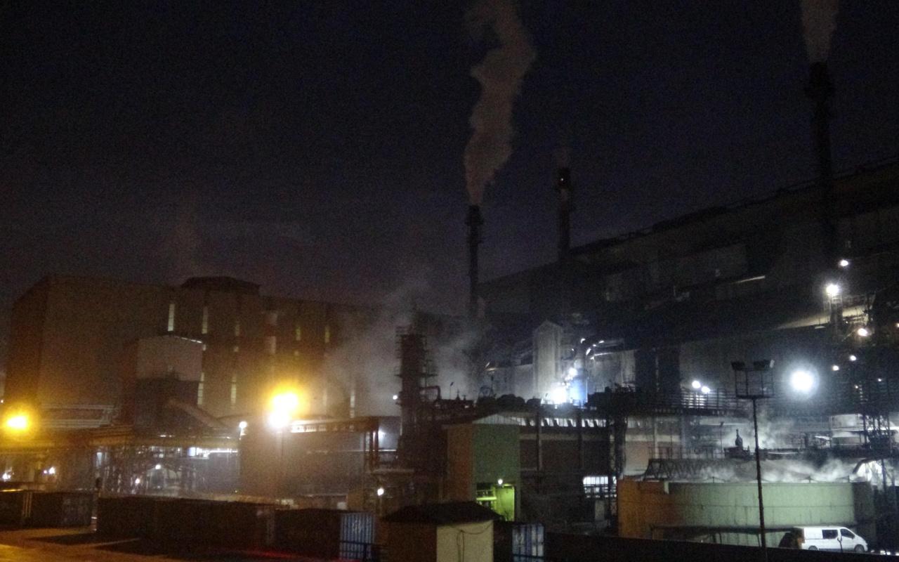 Karabük Demir ve Çelik Fabrikalarında patlama 1 işçi öldü 1 işçi yaralı