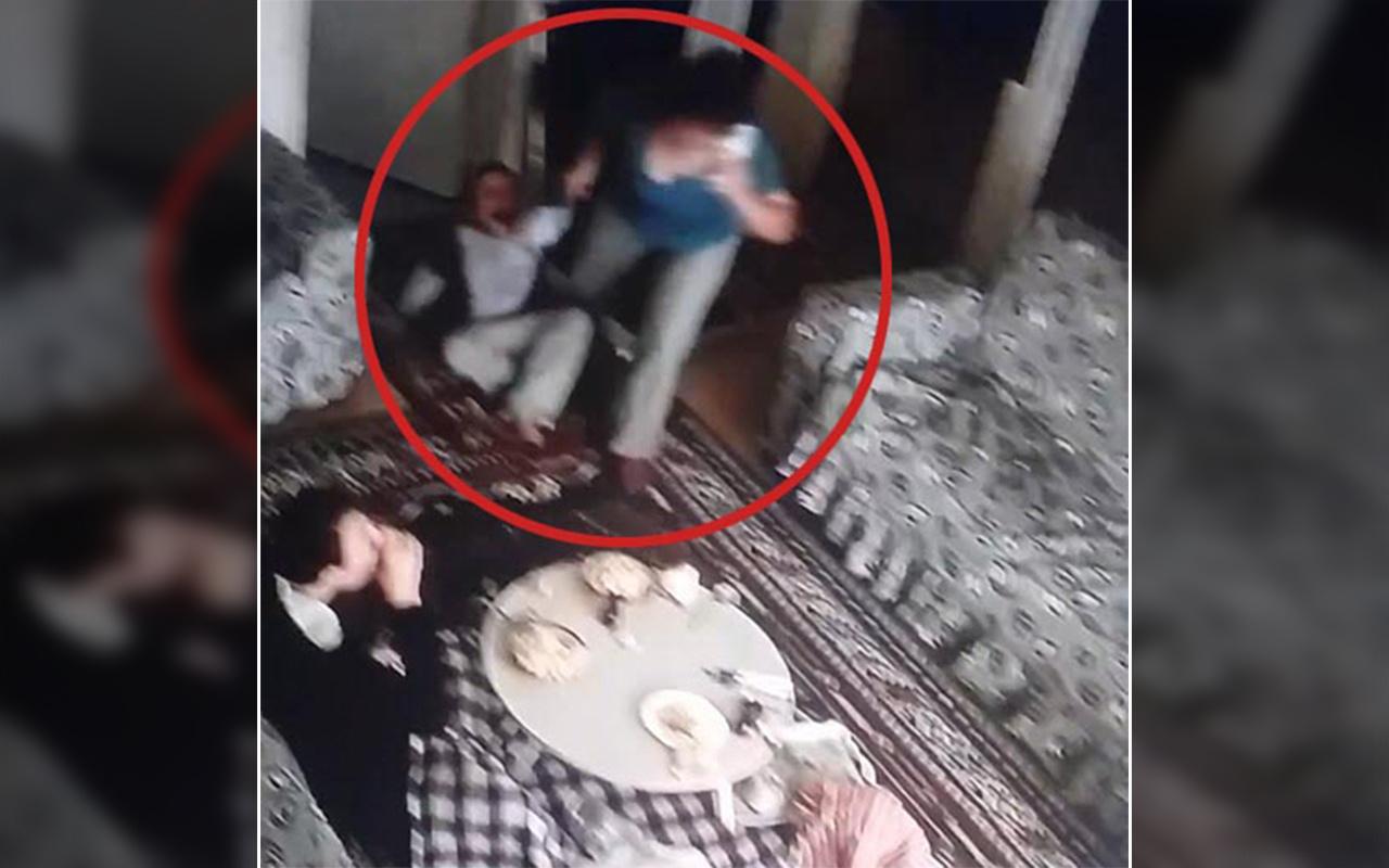 İzmir Karşıyaka'da bakıcı dehşetini kamera ortaya çıkardı
