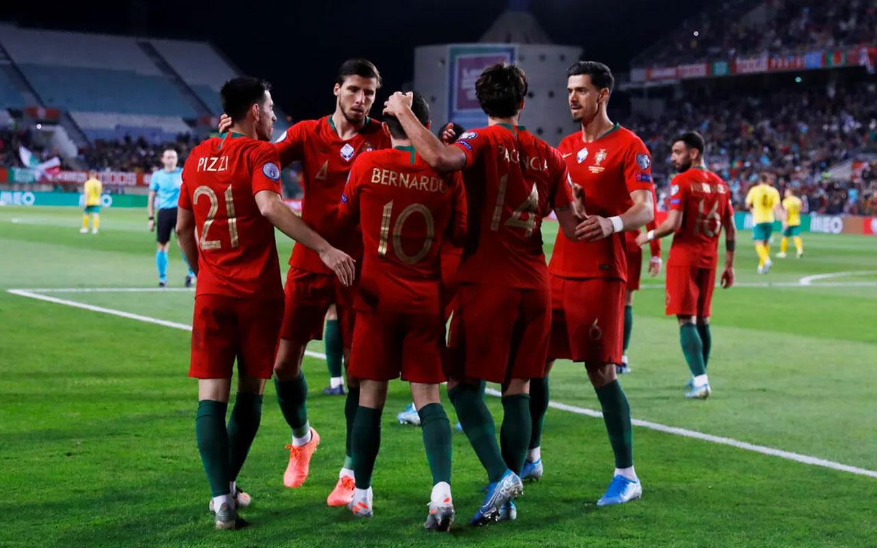 Portekiz Milli Takımı'ndan asker selamı paylaşımı! UEFA buna ne diyecek