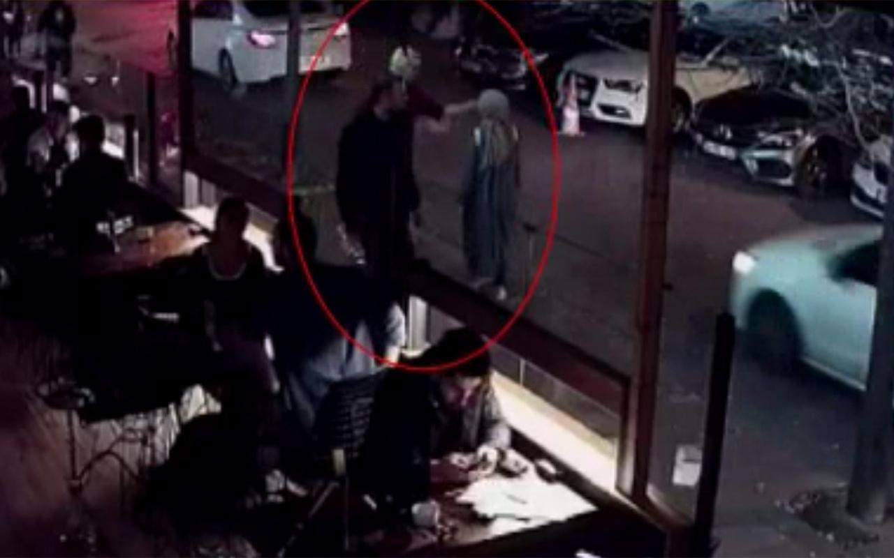 İstanbul Beşiktaş'ta şoke eden olay Genç kadın neye uğradığını şaşırdı