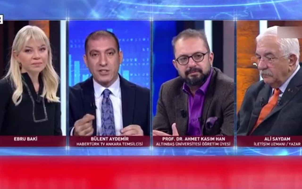 Siyanürün tartışıldığı Habertürk canlı yayınında 'Ahmet kaşınma' şoku