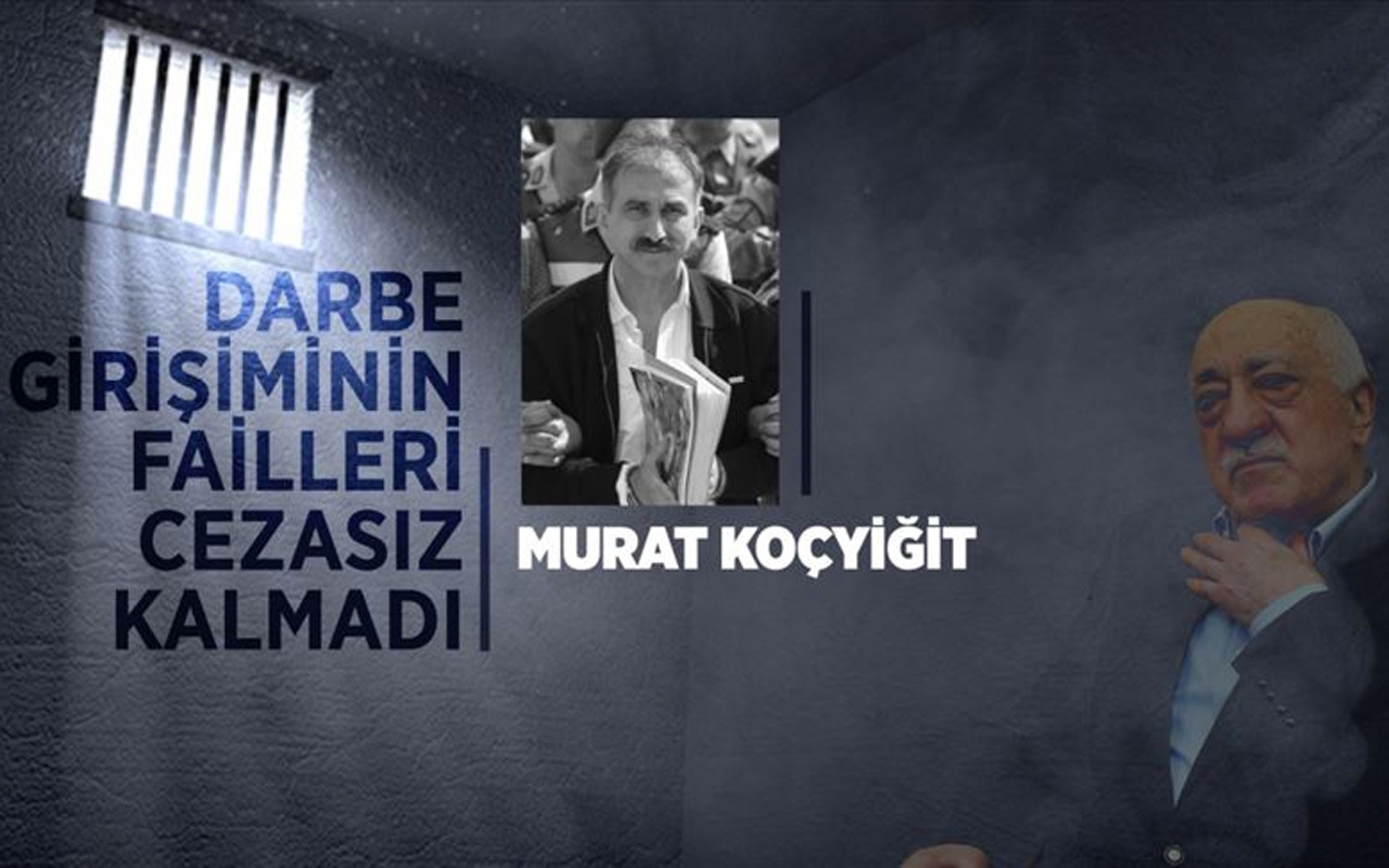 Darbeye katılacakları seçen FETÖ'cü Murat Koçyiğit, kefen parasıyla yırtmaya çalıştı