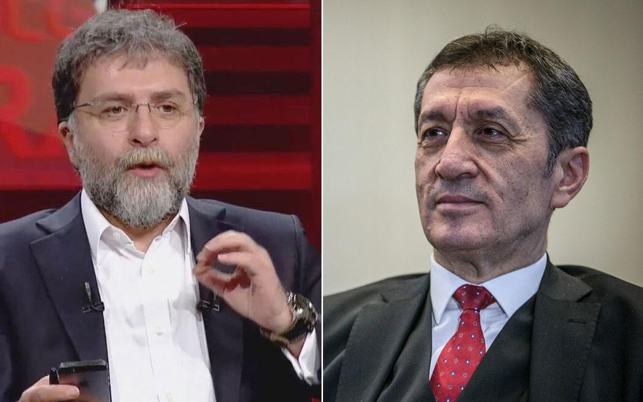 Ahmet Hakan Milli Eğitim Bakanı Ziya Selçuk'a okullardan gelen iki görüntüyü sordu