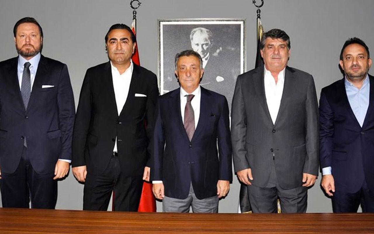 Ahmet Nur Çebi eski yöneticilerle bir arada