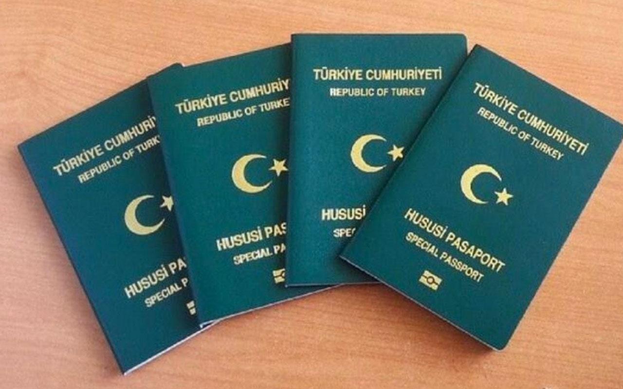 Sanatçılar yeşil pasaport başvurusu yaptı