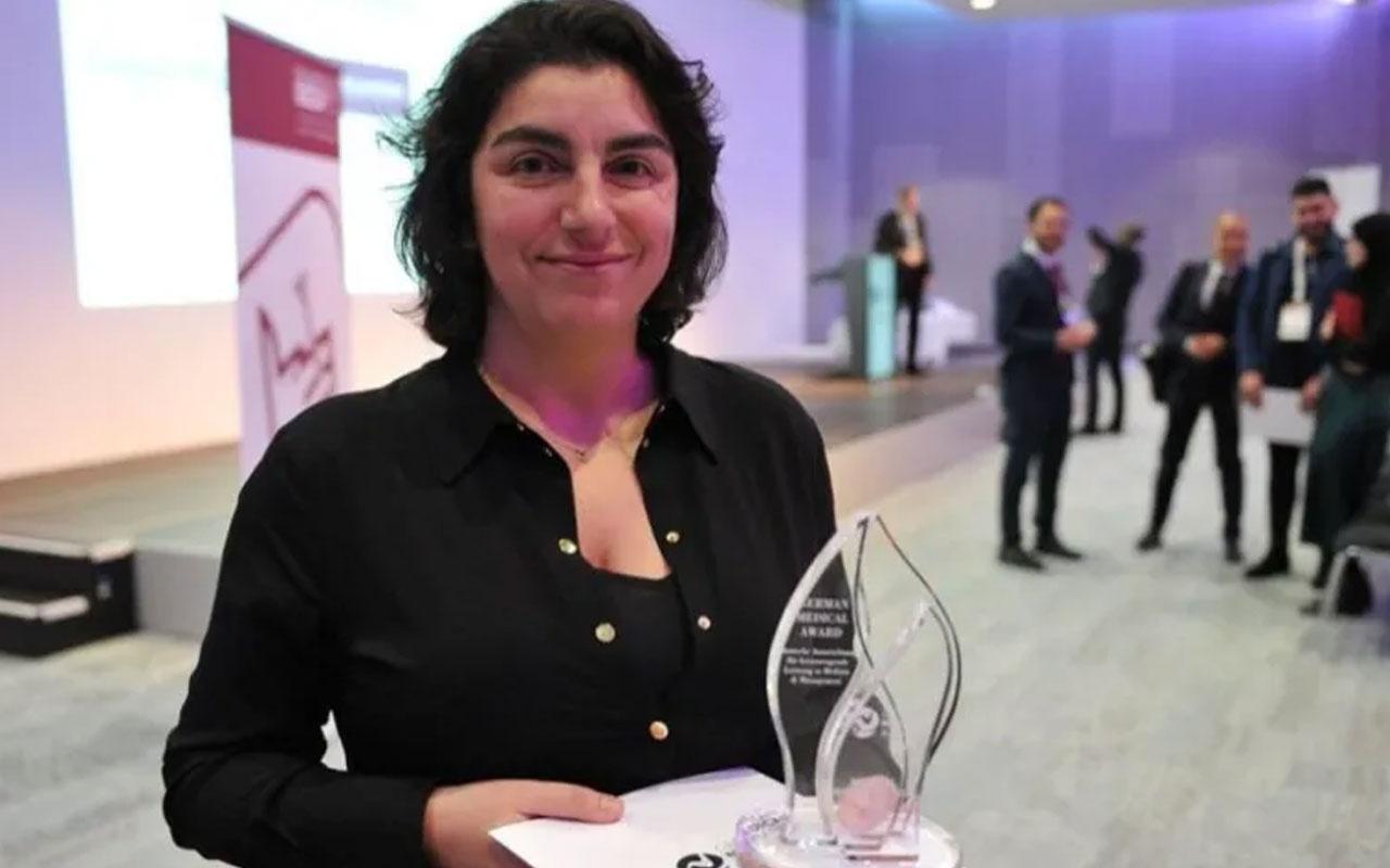 Kalp Cerrahı Dilek Gürsoy'a Alman Tıp Ödülü verildi
