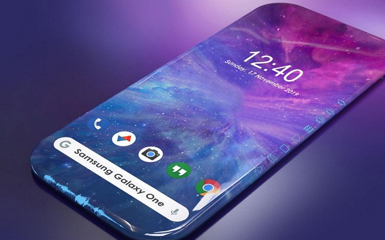 Samsung'un ilginç ekran tasarımı herkesi şaşırttı