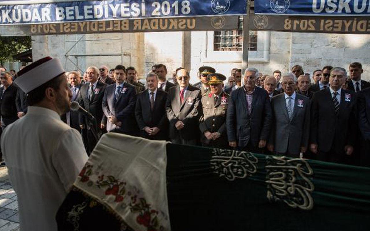 Yaşar Büyükanıt vefat eden eşi Filiz Büyükanıt'ın cenazesine katılamadı