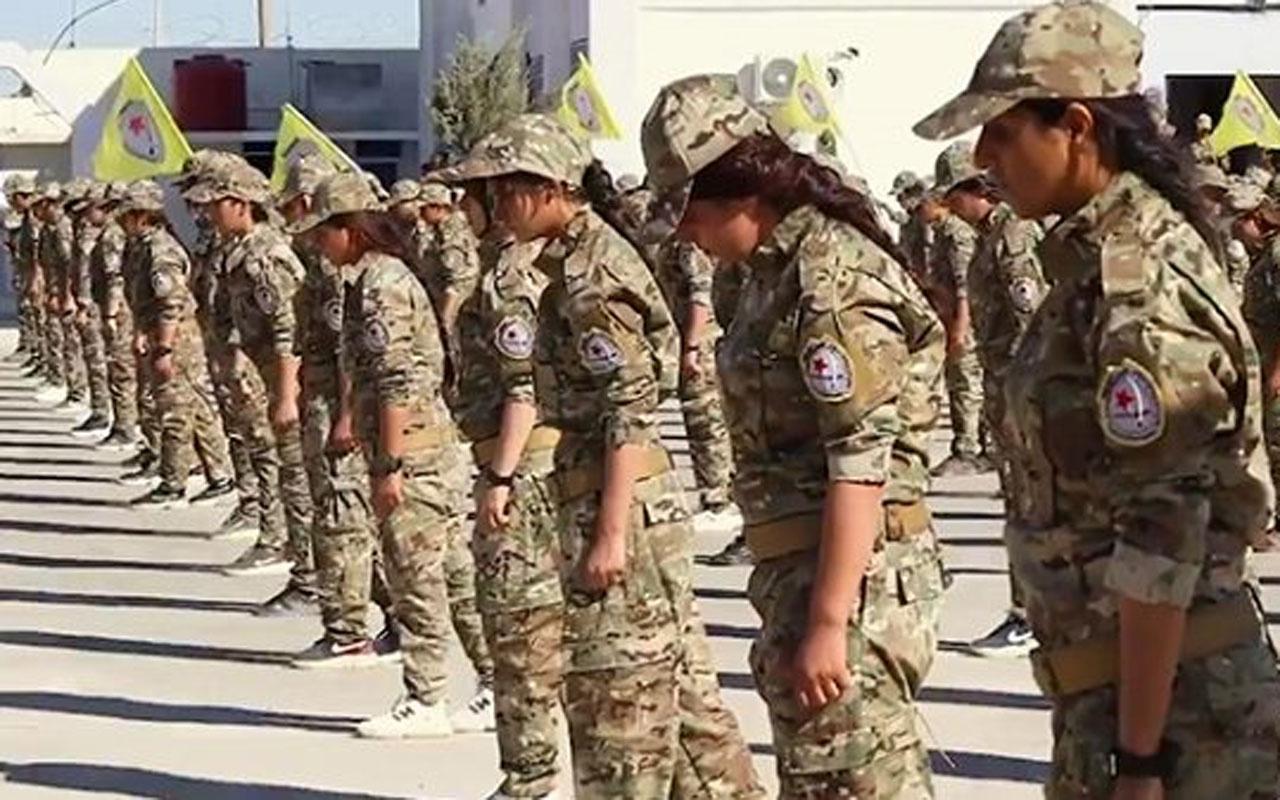 ABD kadın YPG'lileri eğitmek için askeri akademi oluşturdu