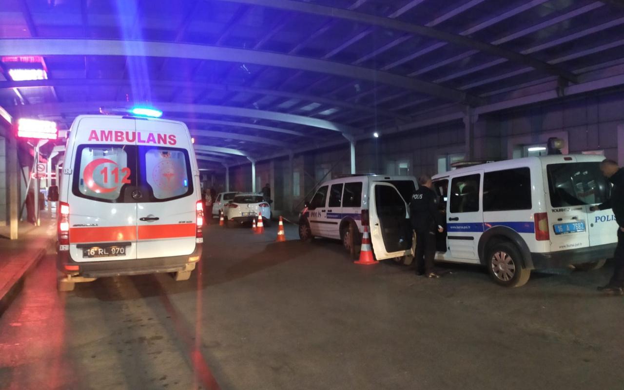 Bursa'da kapıcı ve yönetici kavgasında baltalar konuştu 1 polis yaralı