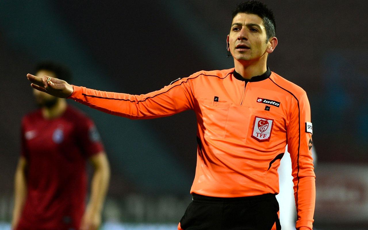 Süper Lig'de 12'nci haftanın hakemleri belli oldu