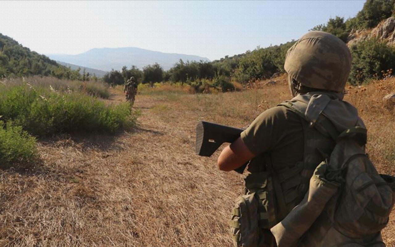 Şehitlerin cenazesini kaçıran PKK'lı terörist Duzyer Kurdi Afrin'de yakalandı