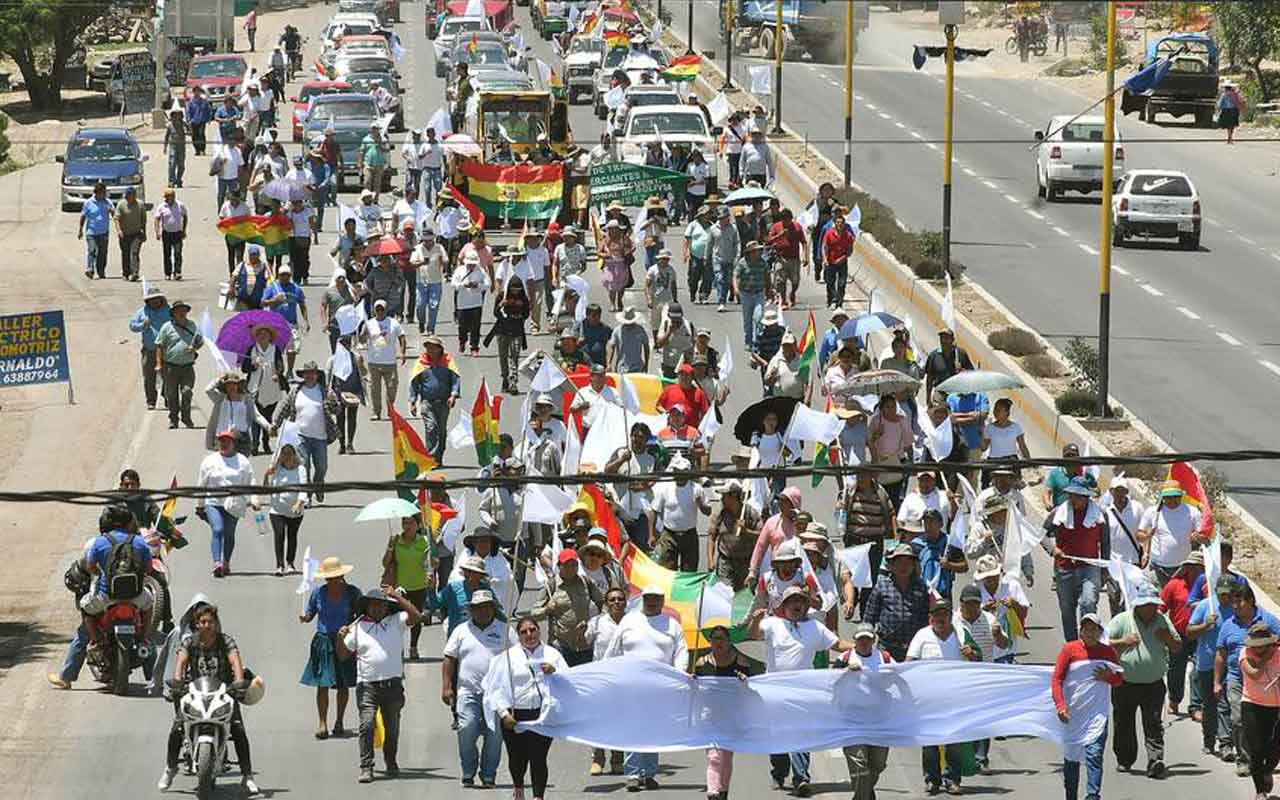 Bolivya'da protestolarda ölü sayısı 30'a yükseldi