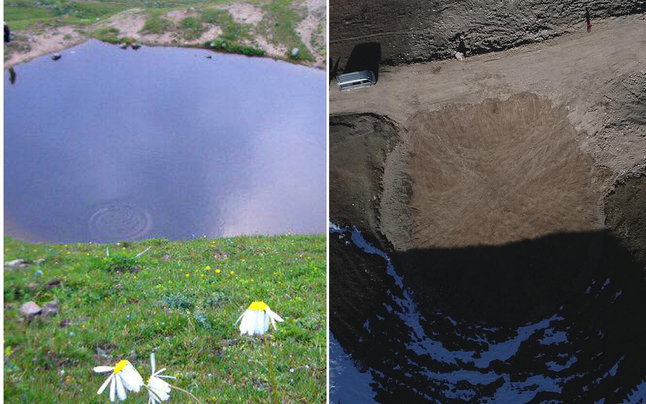Dipsiz Göl'de günlerce aranmıştı esas define açıklandı