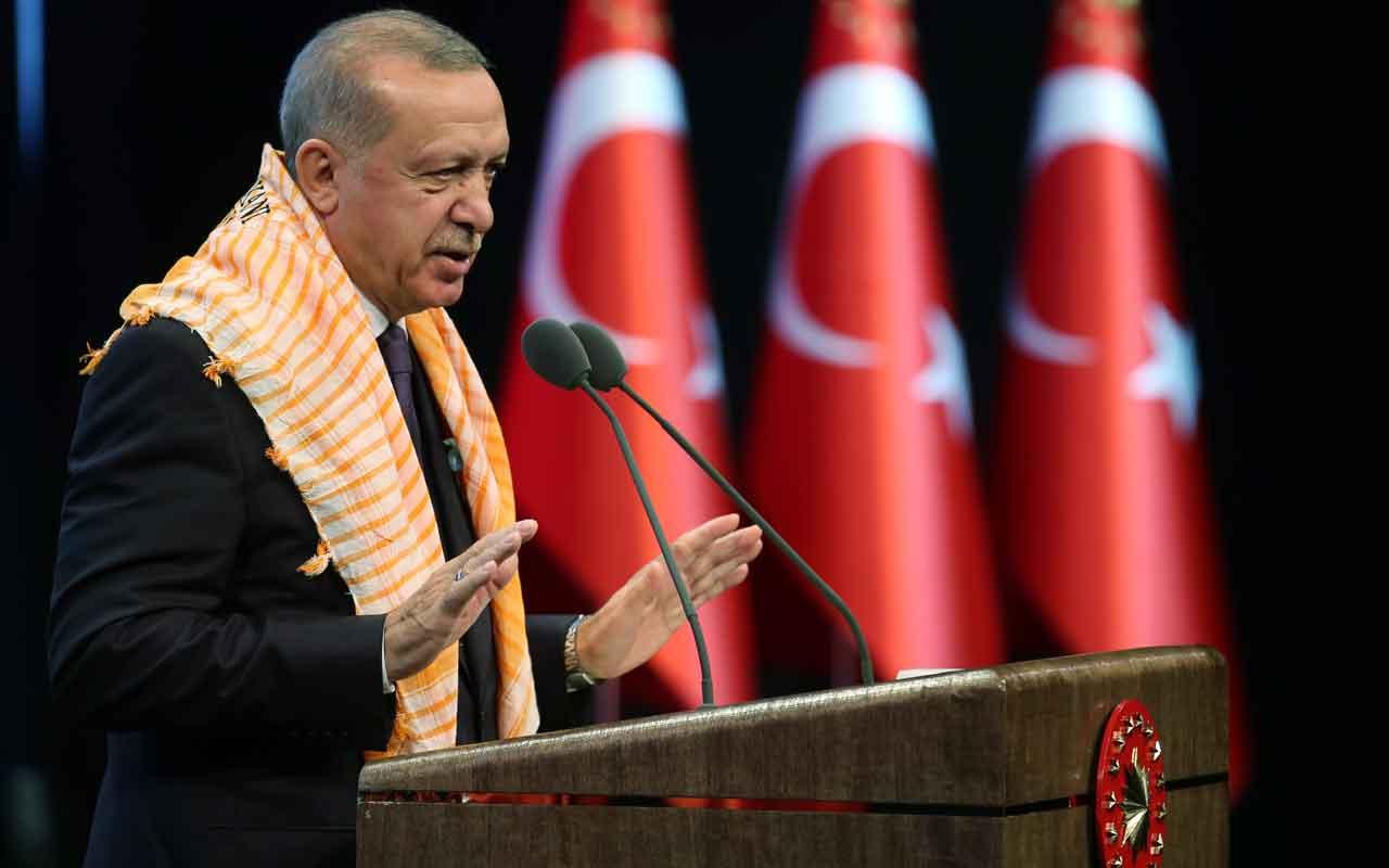 Cumhurbaşkanı Erdoğan 'alışılmışın dışında' deyip kredi müjdesi verdi