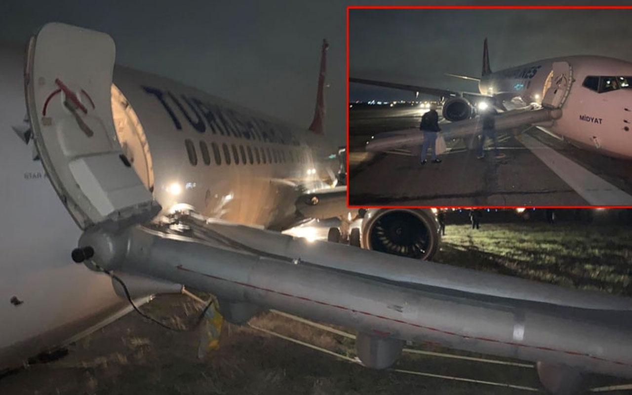 THY uçağı Odessa'da pistten çıktı açıklama geldi