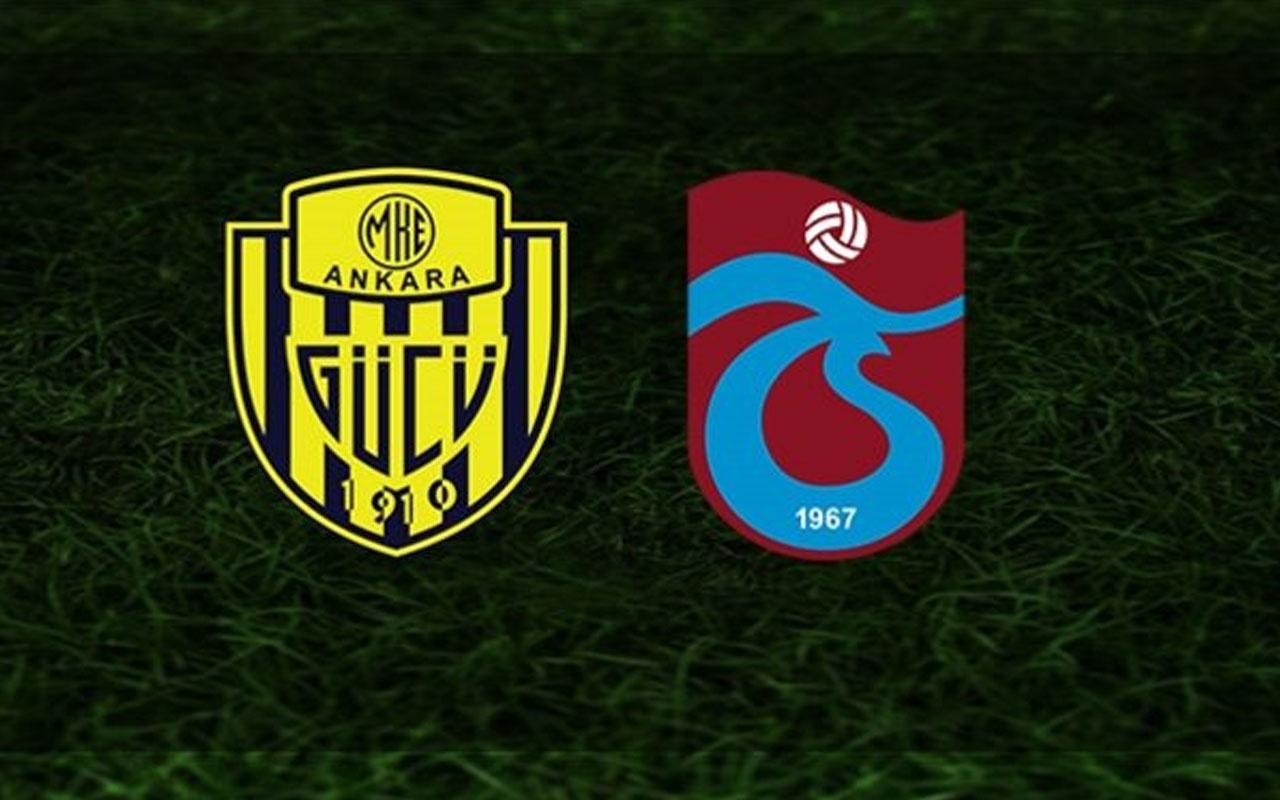 Ankaragücü Trabzonspor maçı geniş özeti ve golleri