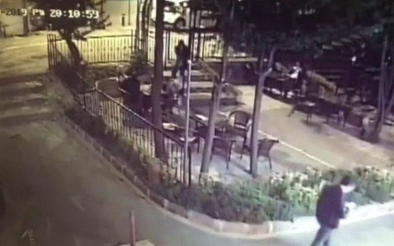 İstanbul'da Uygur Türkü iş adamının öldürülme anı kamerada