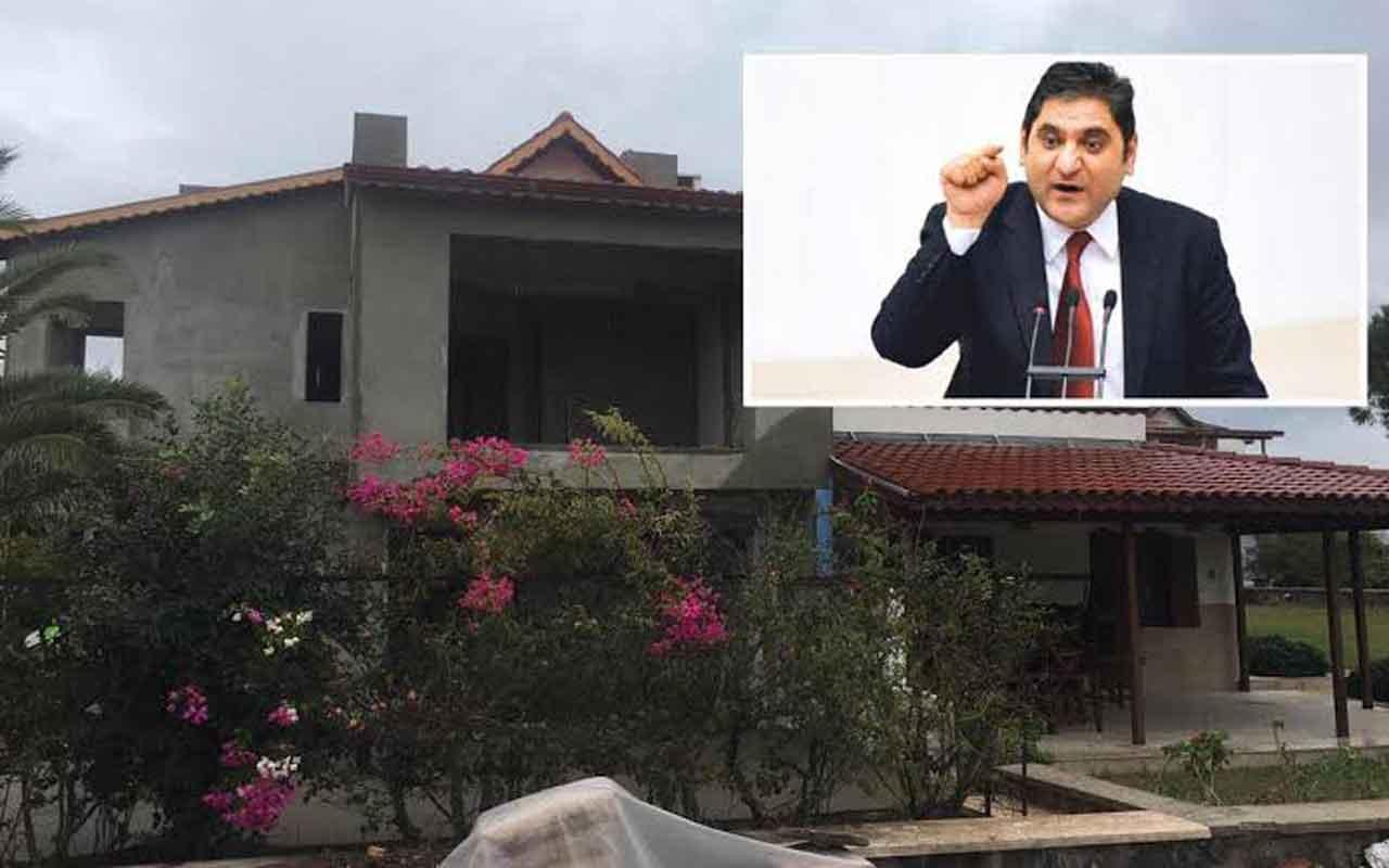 CHP'li Aykut Erdoğdu, kaçak yapısını yıktı