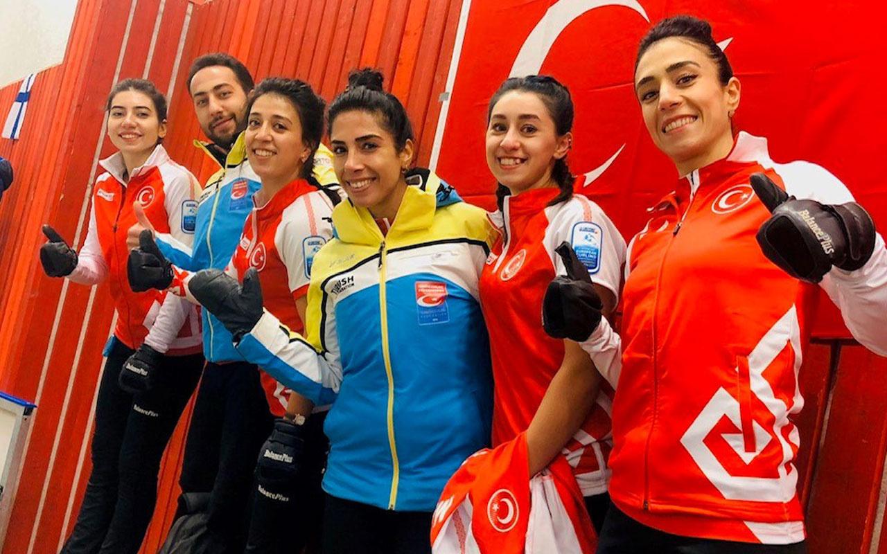 Kadın Curling Milli Takımımız Avrupa ikincisi oldu