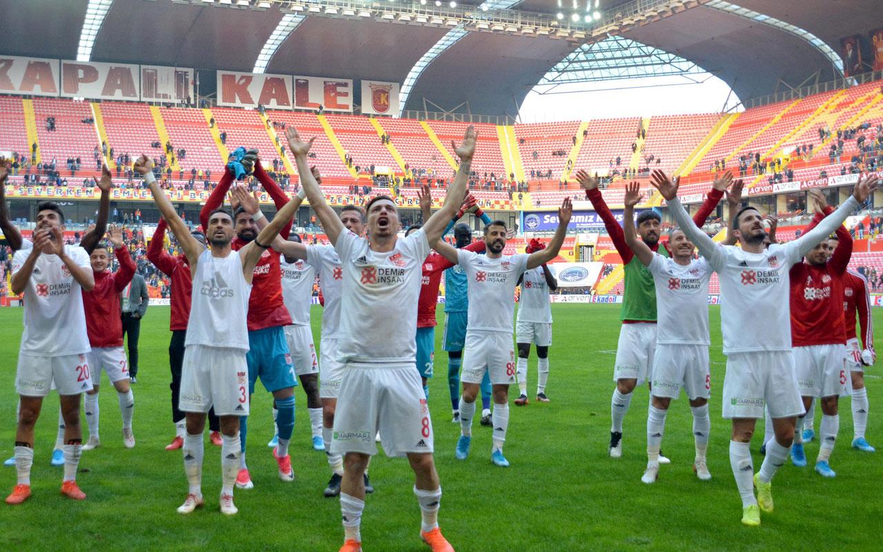 Sivasspor için il protokolünden bilet zinciri