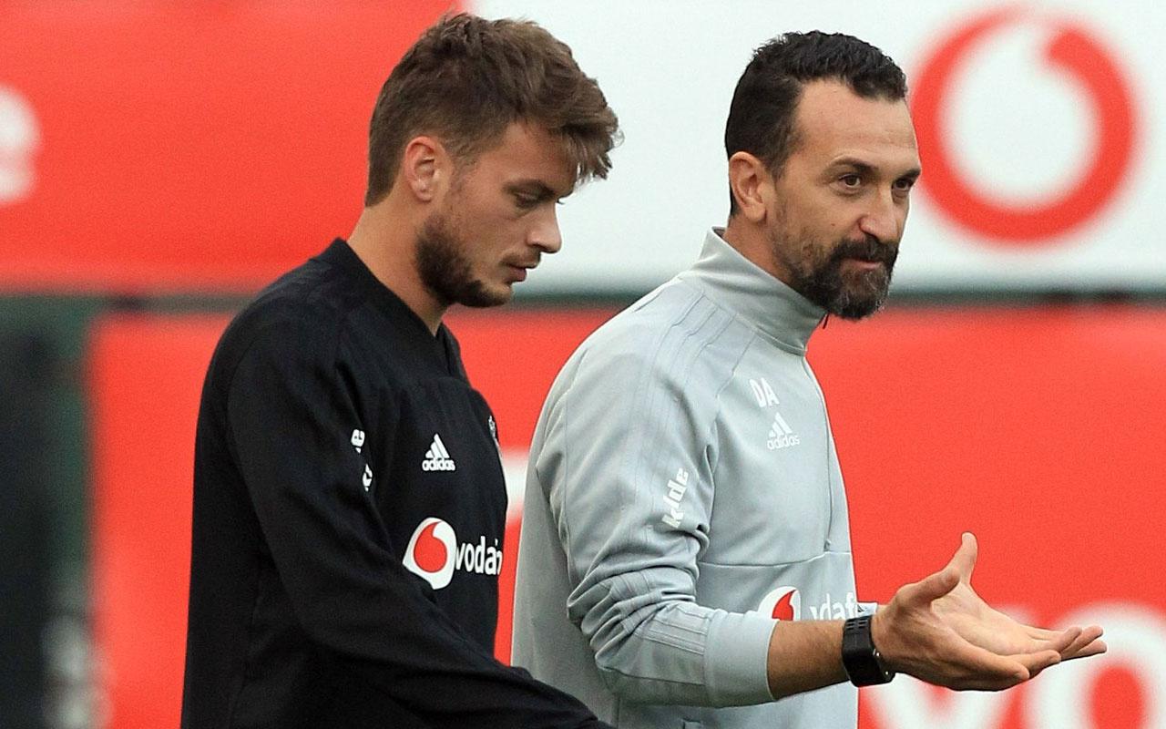 Beşiktaş'ta Adem Ljajic Sİvasspor maçı için takımla çalıştı