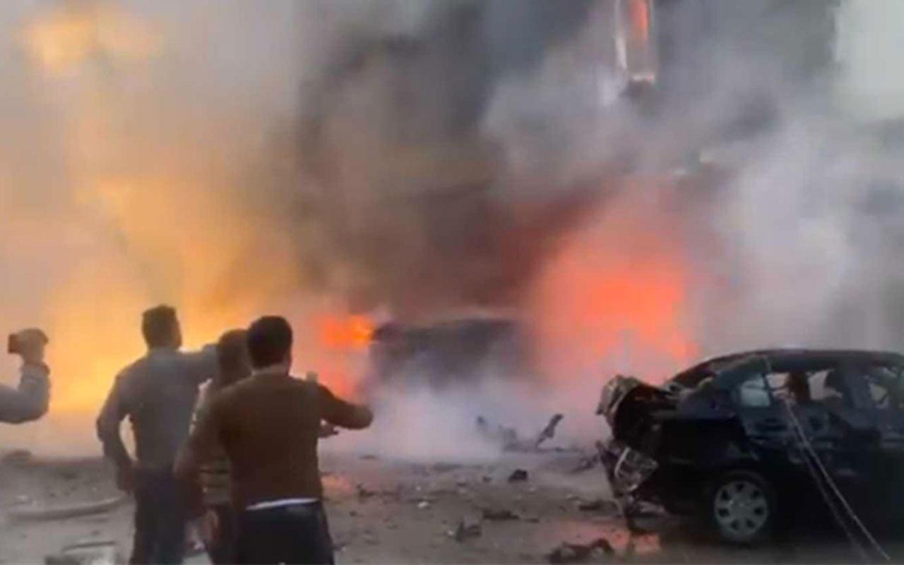 Barış Pınarı Harekatı bölgesindeki Resulayn'da patlama!