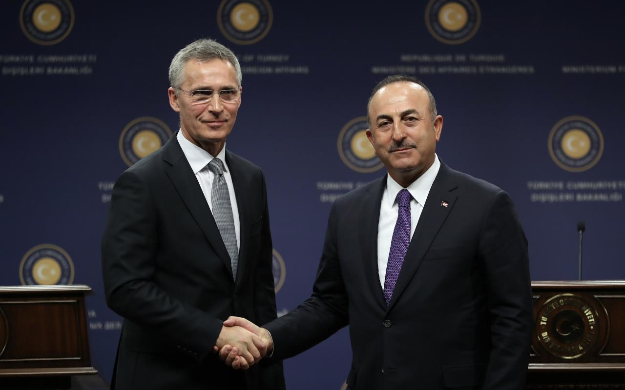 Bakan Çavuşoğlu Stoltenberg ile görüştü