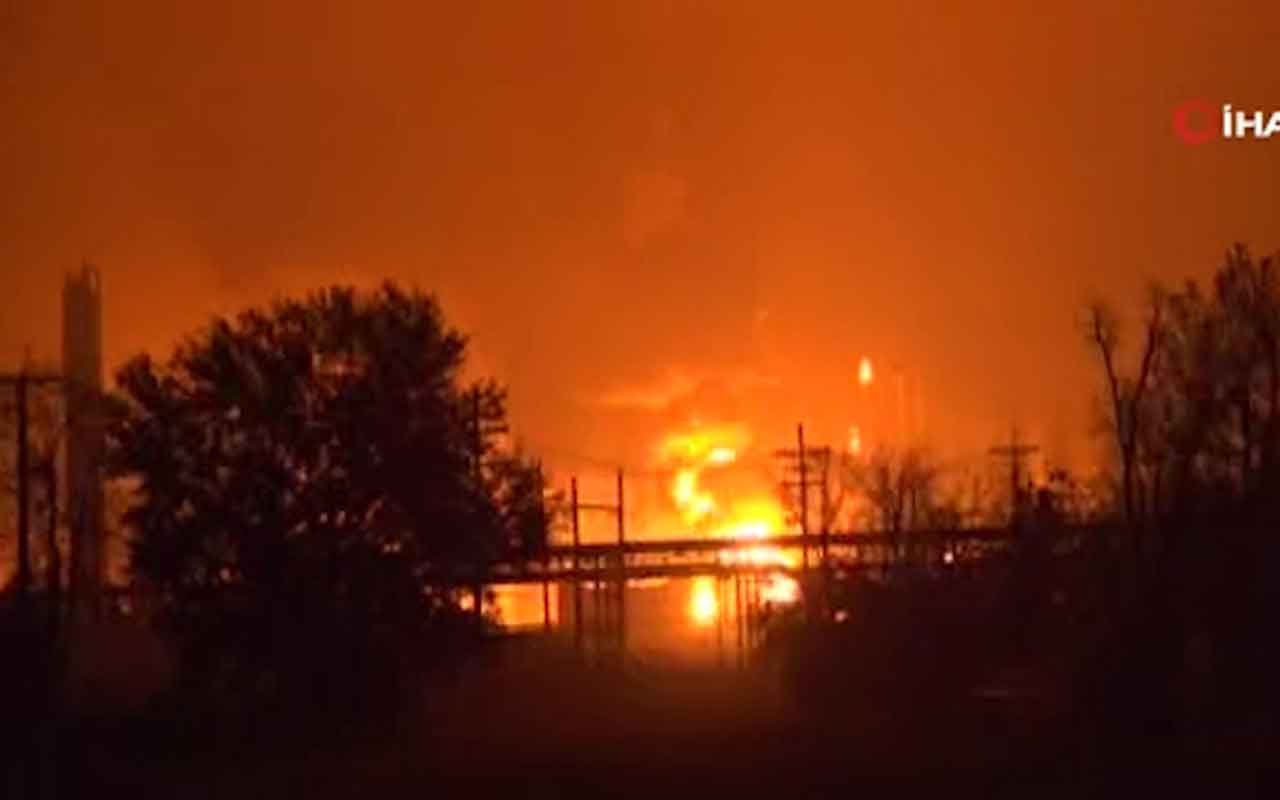 ABD'de petrokimya tesisinde patlama