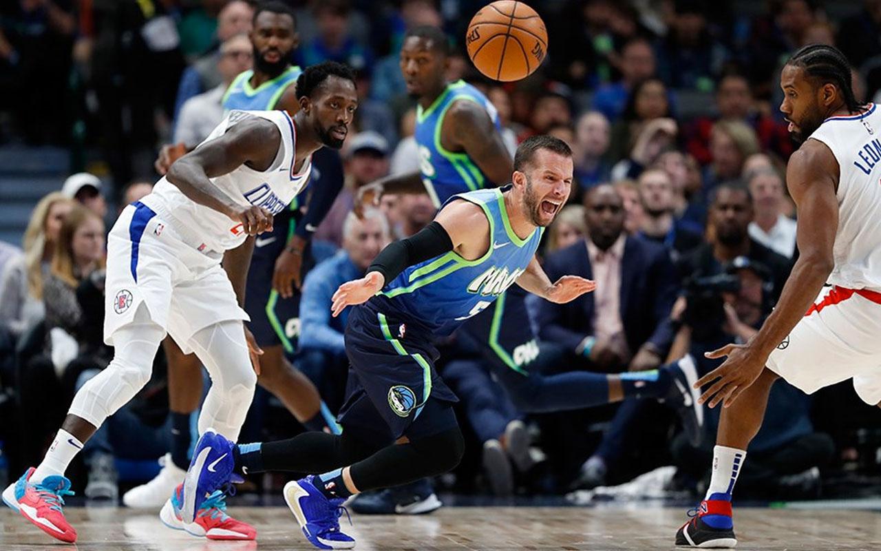 Dallas Mavericks'in serisine Los Angeles Clippers son verdi