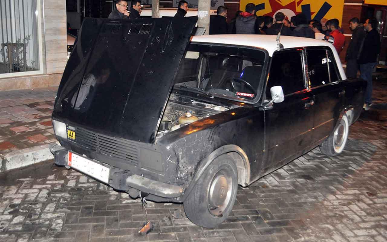 Manisa'da borçlu olduğu kişinin 3 aracını ateşe verdi