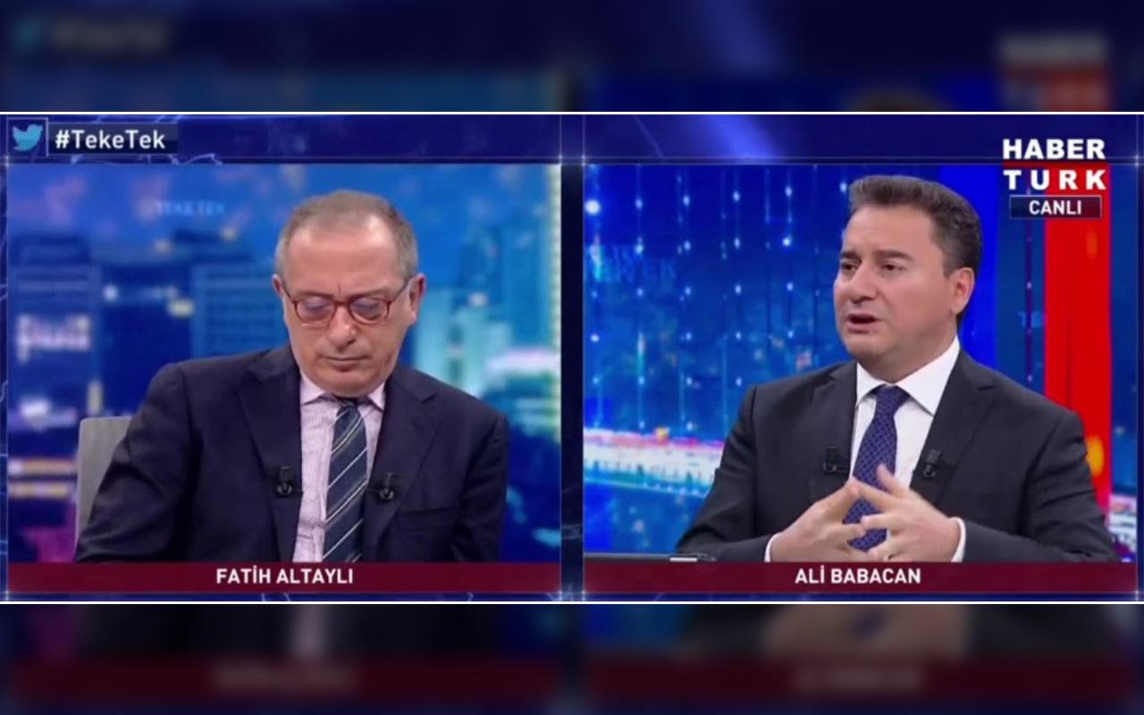 Ali Babacan: Kimseye istifa çağrısı yapmadık