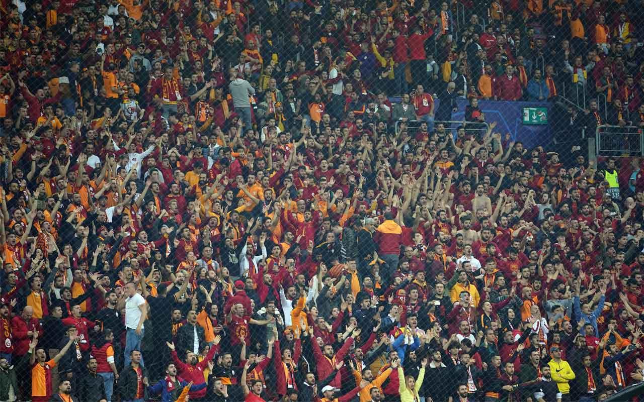 Galatasaray - Club Brugge maçını 34 bin 225 seyirci izledi