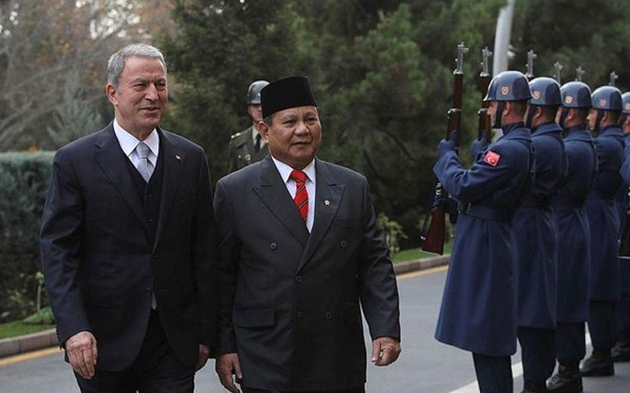 Bakan Hulusi Akar Endonezya Savunma Bakanı ile görüştü