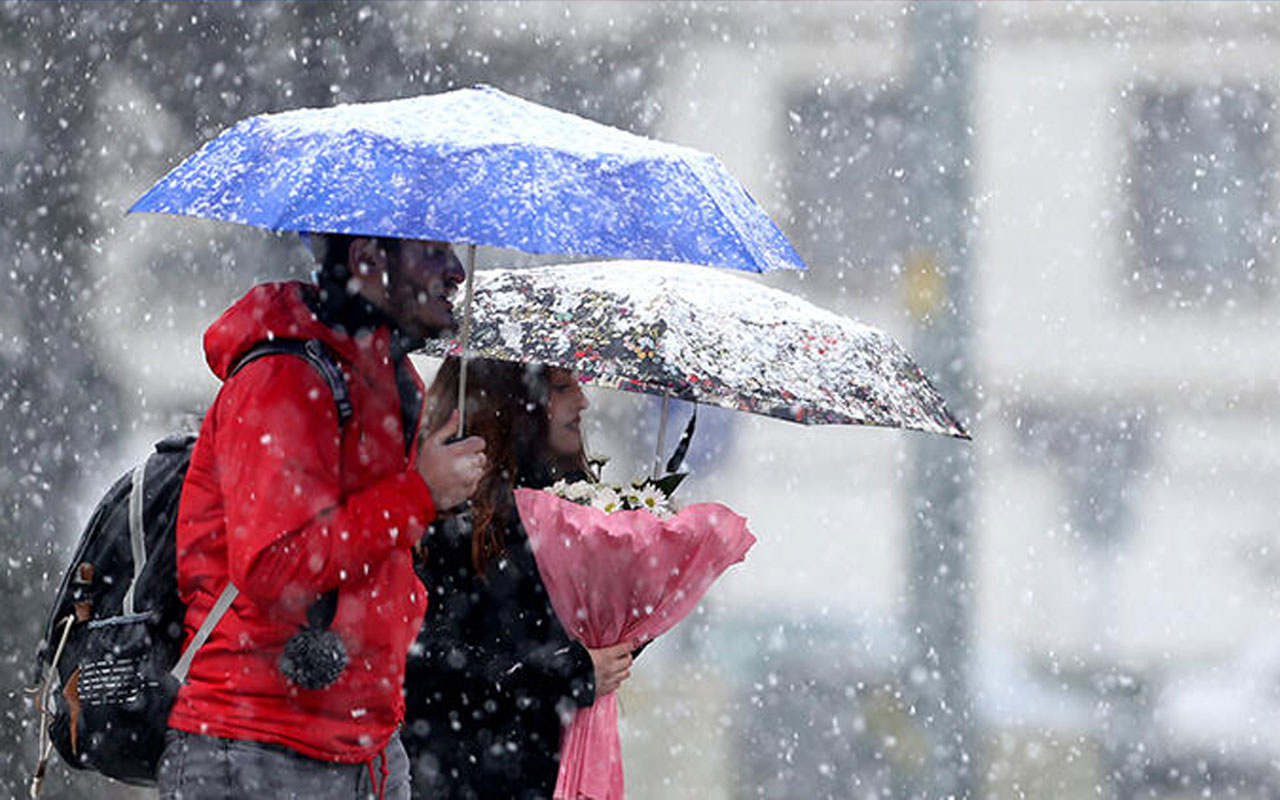 Ankara hava durumu kar başlıyor meteoroloji saati verdi!