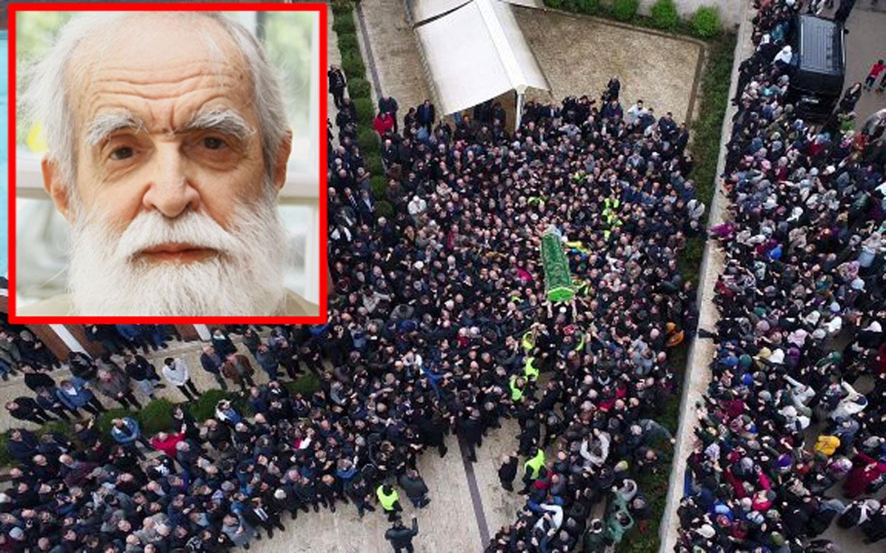 'Sahte peygamber' Evrenosoğlu'nun cenazesinde tuhaf olaylar