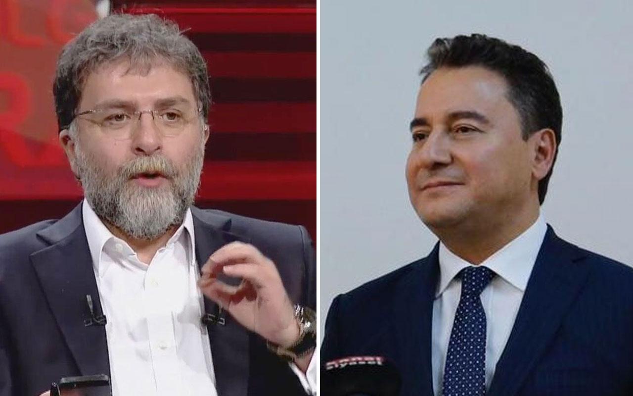 Ali Babacan ekrana çıktı Ahmet Hakan artılarını eksilerini yazdı
