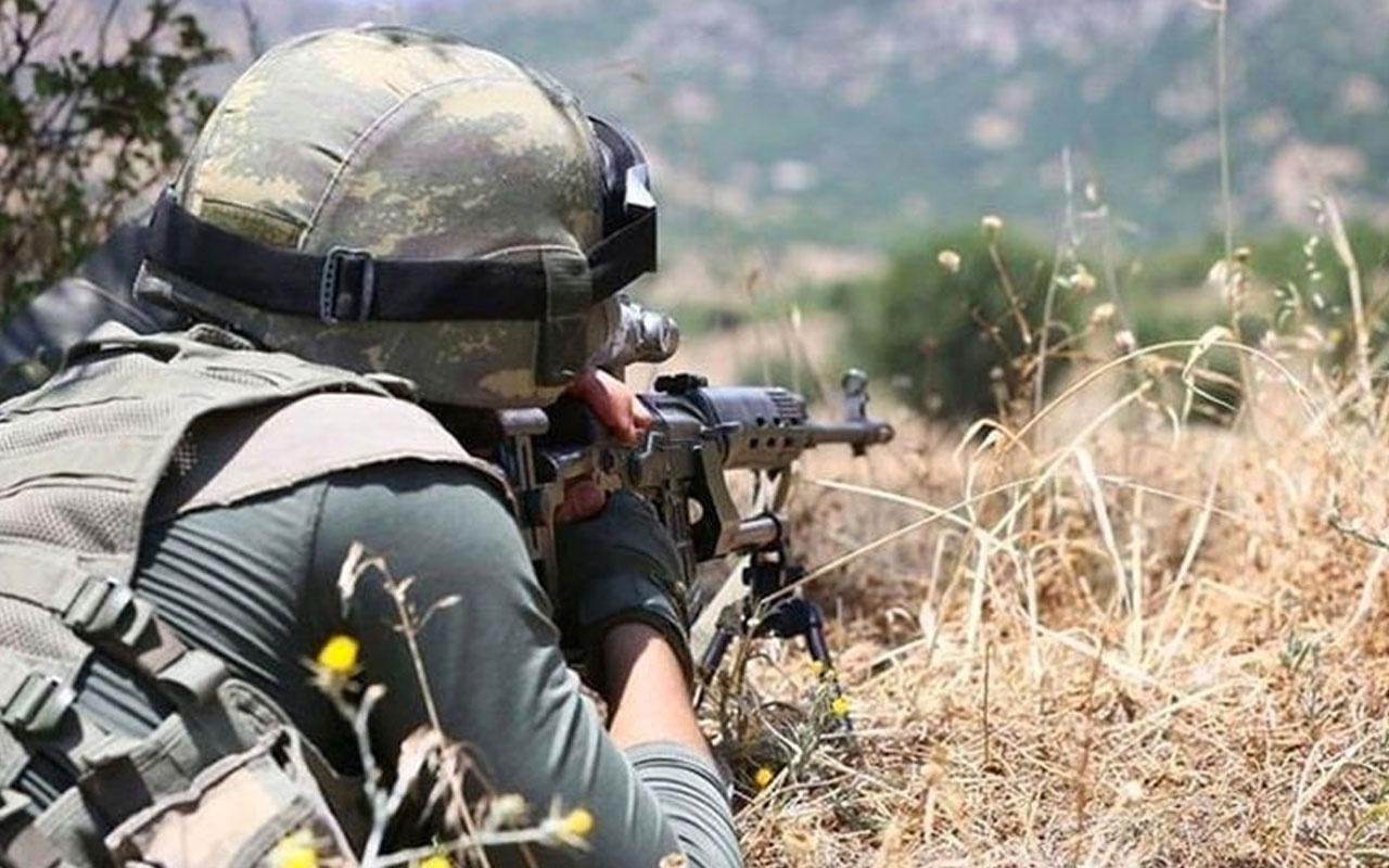 Kuzey Irak'ta 2 PKK'lı terörist etkisiz hale getirildi!