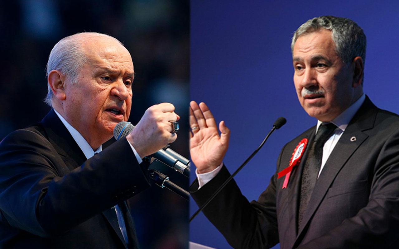 Devlet Bahçeli'den Bülent Arınç'a 'pompacı' tepkisi: Ağzını kapatsa iyi olacak