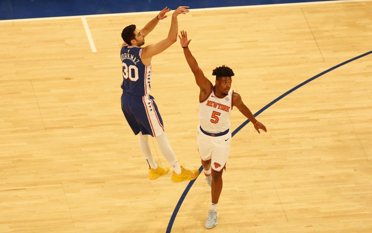 Furkan Korkmazlı Philadelphia 76ers deplasmanda kazandı