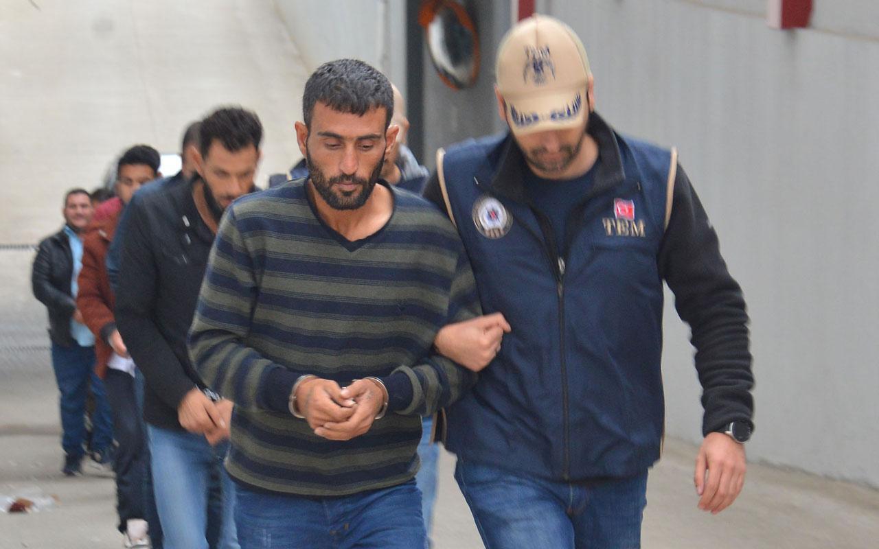 Adana'da patlatılan bomba Suriye'den ateşlenmiş