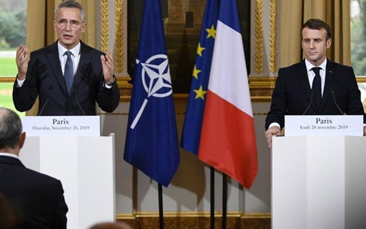 NATO Genel Sekreteri Stoltenberg'ten Fransa'ya 5. madde uyarısı