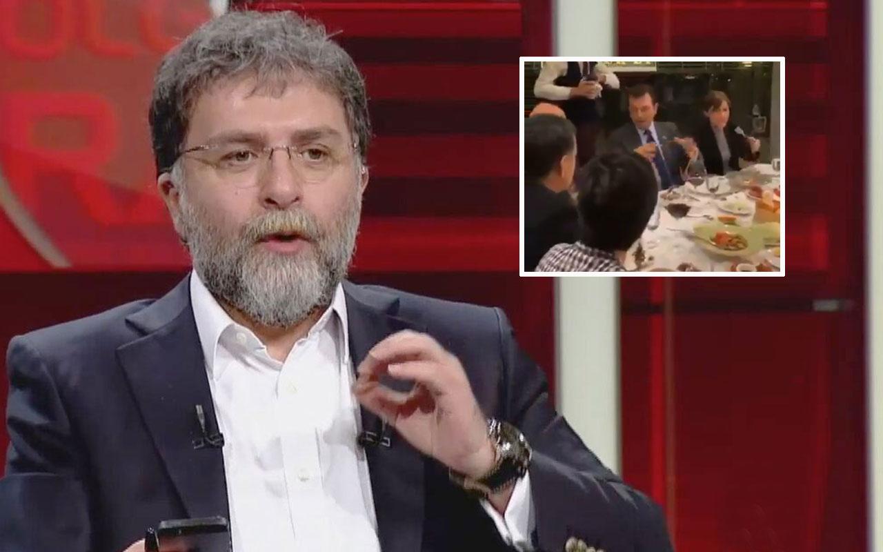 Ekrem İmamoğlu'nun sofra görüntüleriyle ilgili Ahmet Hakan günün sorusunu sordu
