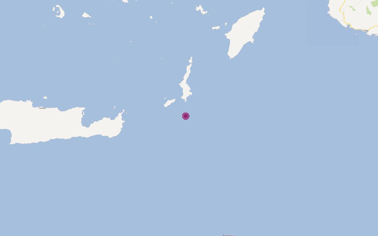 Son depremler Muğla'nın Datça ilçesinde 4,3 büyüklüğünde oldu