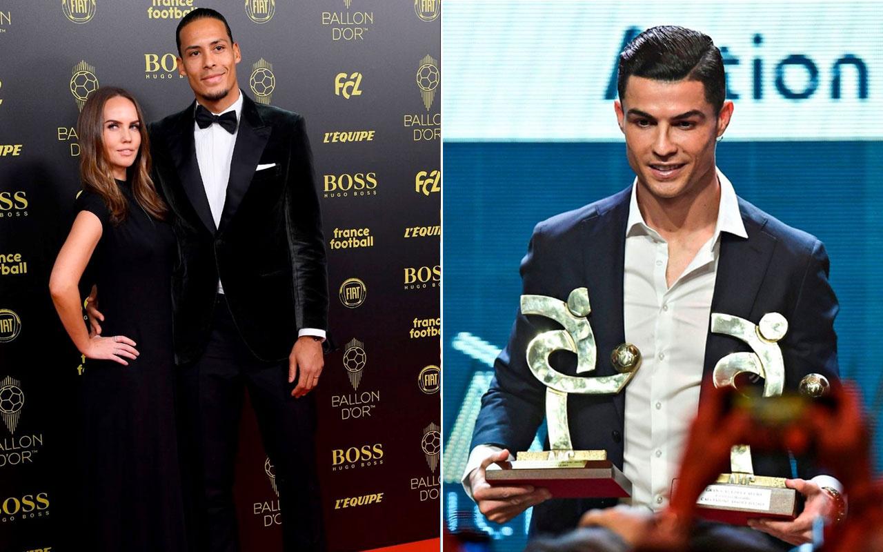 Ballon d'Or Altın Top'da Virgil Van Dijk'ten Ronaldo'ya olay gönderme