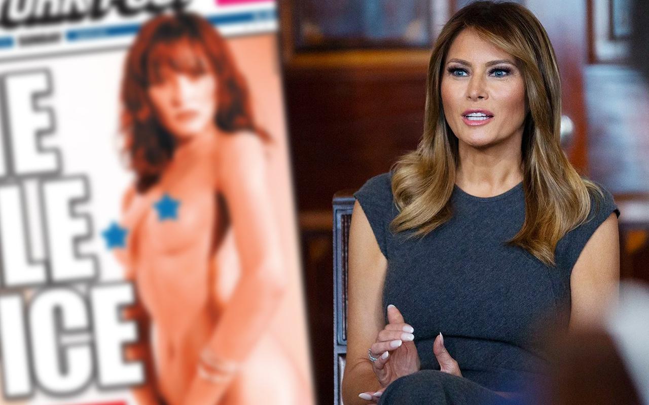 Free Melania! ABD çıplak first leydi Melania Trump kitabıyla sallanıyor